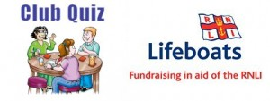 21st March 2015 – Club quiz in aid of the RNLI