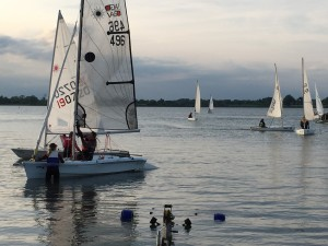 Sailing - New members, 4 evenings of informal introductory to sailing @ SSBC