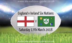 England v Ireland  - Quiz to follow @ SSBC